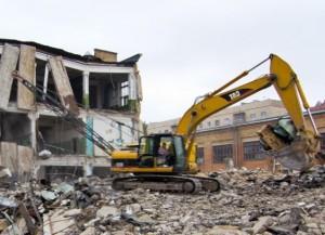 Демонтаж домов и сооружений в Москве